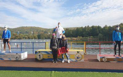 Secţia de kaiac-canoe de la CSM Piteşti a avut o săptămână încărcată şi cu reuşite la cele 3 concursuri de la Bascov/Budeasa