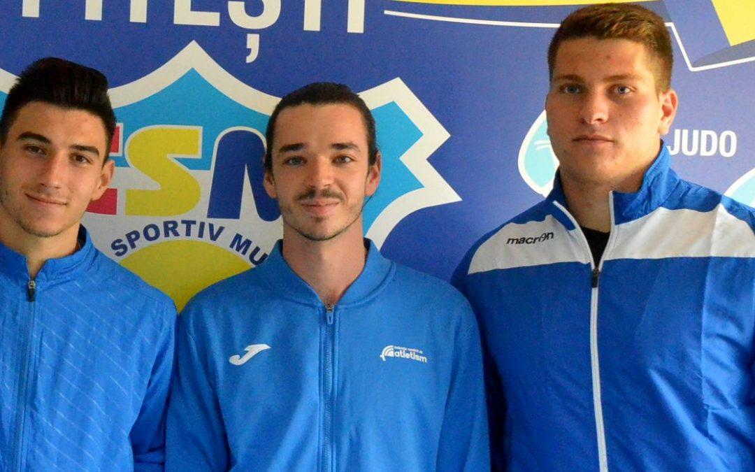 Atleţii de la CSM Piteşti s-au remarcat la naţionalul pentru tineret şi seniori