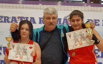 CSM Piteşti a obţinut 5 medalii, dintre care două de aur, în Cupa României la box feminin