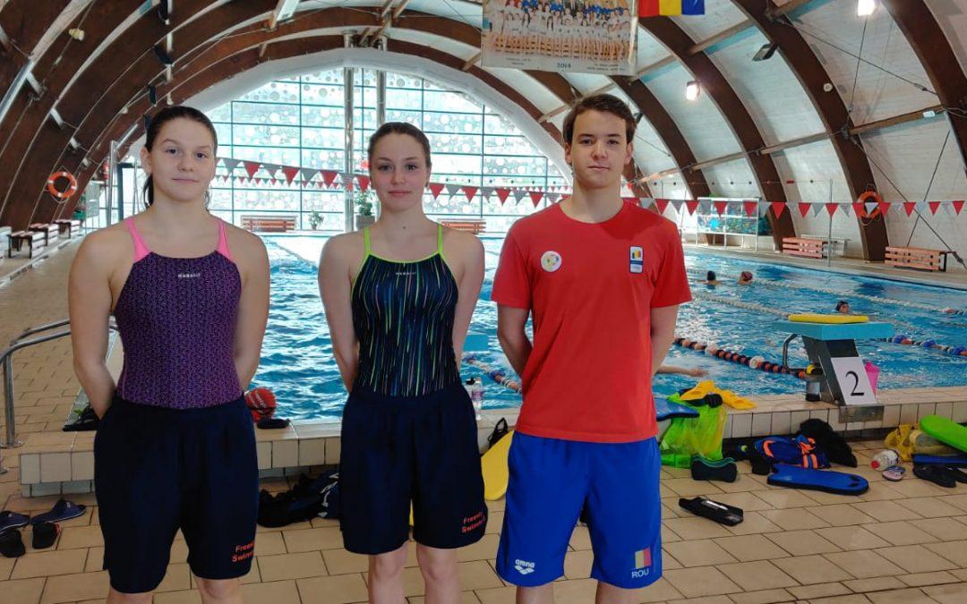 Iacob, Safcencu şi Surugiu vor fi prezenţi la competiţia de înot Multination 2021