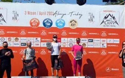 Denisa Dragomir a câştigat Alanya Ultra Trail, prima cursă din acest an