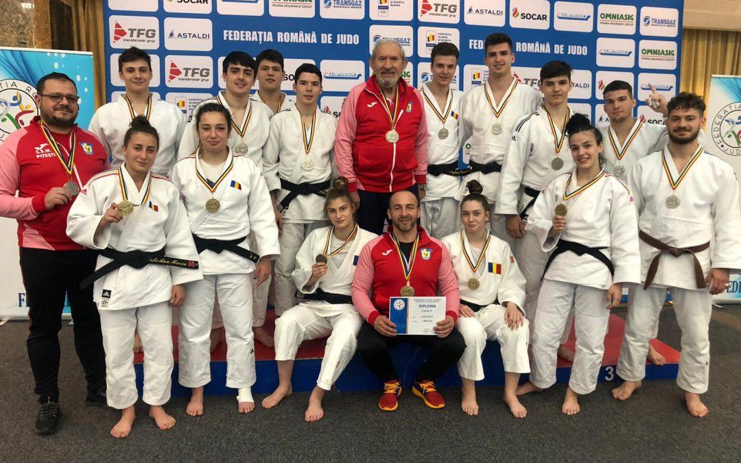 CSM Piteşti şi-a reconfirmat valoarea şi la naţionalul de judo tineret U23