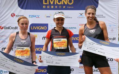 Denisa Dragomir, locul 1 la Livigno Skymarathon